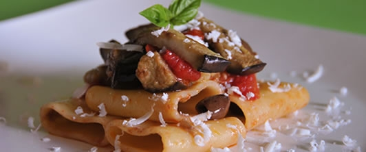 Paccheri con l'estate dentro